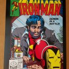 Ironman 128 Demon in a Bottle Marvel Comics Poster by Bob Layton