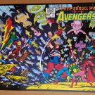 Kree-Skrull War Starring the Avengers 2 Marvel Comics Poster by Neal Adams