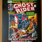 Marvel Spotlight Ghost Rider 5 Origin Marvel Comics Poster by Mike Ploog