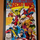 Marvel Super Heroes Secret Wars 1 Marvel Comics Poster by Mike Zeck