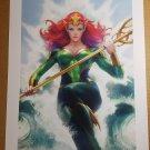 Mera Art Print DC Comic Poster by Stanley Artgerm Lau