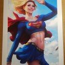 Supergirl 28 Art Print DC Comic Poster by Stanley Artgerm Lau