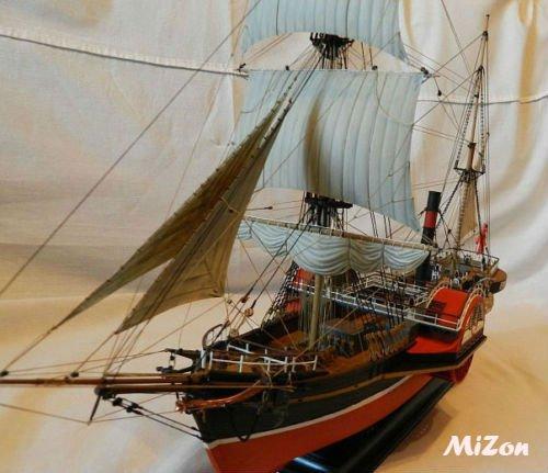Steamer Ship Sirius Model Kit 1/100 Boat of Zvezda (9013) Gift Toy Boy