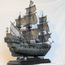 Black Pearl Ship Pirates of the Caribben Jack Sparrow Model Kit 1/350 Boat of Zvezda (6513) Gift Toy