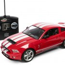 Radio Control 1/14 RC car Ford Shelby GT500 34 cm Red Gift Toy Boy