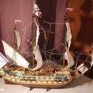 "Ship Russian XVIII century navy flagship ""Goto Predestinatsia"" Model Kit 1/96 Boat Gift Toy Boy"