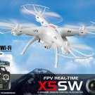 Radio Control 2.4G RC Quadcopter Drone Syma X5SW WiFi HD Camera FPV 4CH with 6-axis gyro (Headless)