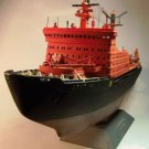 "Ship Russian nuclear powered icebreaker ""Arctica""  Model Kit 1/400 Boat Gift Toy Boy"