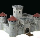 Medieval Stone Knigh't Castle Model Kit 1/72 (8512) Building Miniature by Zvezda Gift Toy Boy