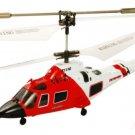 Radio Control 1/64 RC American helicopter MH-68A Hitron U.S Coast Guard Giro IR-control Gift Toy Boy
