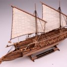 Wooden Model Kit 1/72 Cannon JOLLE 1801 Ship Boat Museum Quality Gift Toy Boy