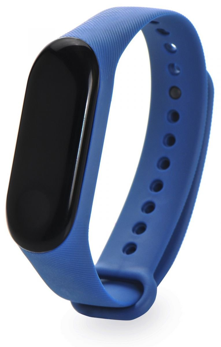Gurdini fluted series strap silicone for fitness bracelet Xiaomi Mi Band 3 or 4