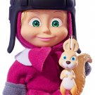 Doll Masha and the Bear Masha with a squirrel, Toy cartoon characters Russian Gift