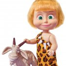 Doll Masha and the Bear Masha with a goat, Toy cartoon characters Russian Gift
