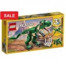 LEGO Creator 31058 Mighty Dinosaurs T-Rex, Triceratops or Pterodactyl Play Set Gift Building Toy