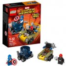 LEGO DC Comics Super Heroes 76065 Mighty Micros: Captain America vs. Red Skull Play Set Building Toy