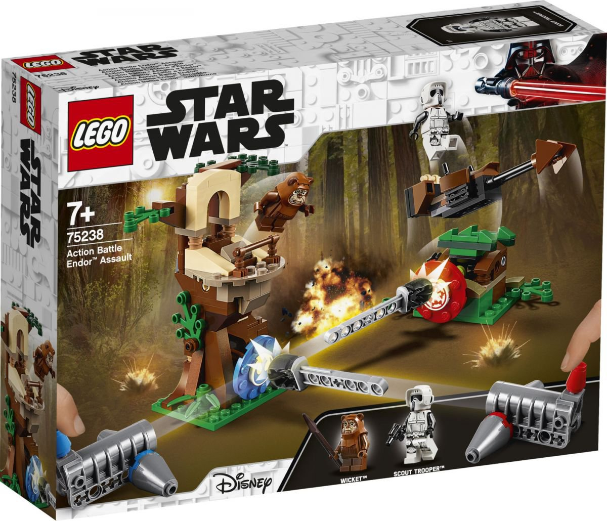 LEGO Star Wars 75238 Attack on the planet Endor Play Set Gift Building Toy