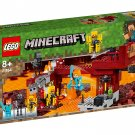 LEGO Minecraft 21154 Ifrit Bridge Play Set Gift Building Toy