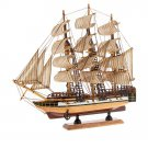 Wooden Ship Model 34 cm Assembled (33705) Boat by Russian Gifts Toy Boy
