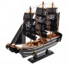 Wooden Ship Model 24 cm Assembled (33770) Boat by Russian Gifts Toy Boy