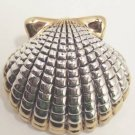 Shell Slide Pin Brooch Fashion Jewelry