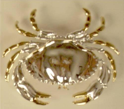 Atlantic Crab Slide Pin Pendant
