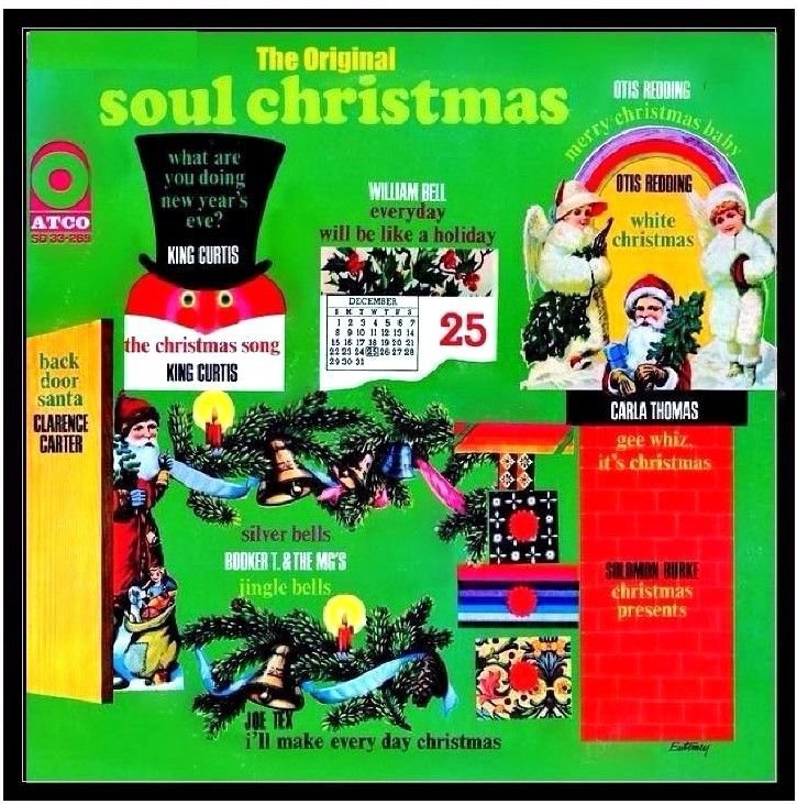 The Original Soul Christmas [CD, Atlantic] 17 Tracks All original versions
