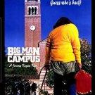 Big Man On Campus [DVD, 1989] Allan Katz Rare 80's Comedy HQ Widescreen