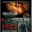 Gerald's Game/ 1922 Stephen King Double Feature [Blu-ray]