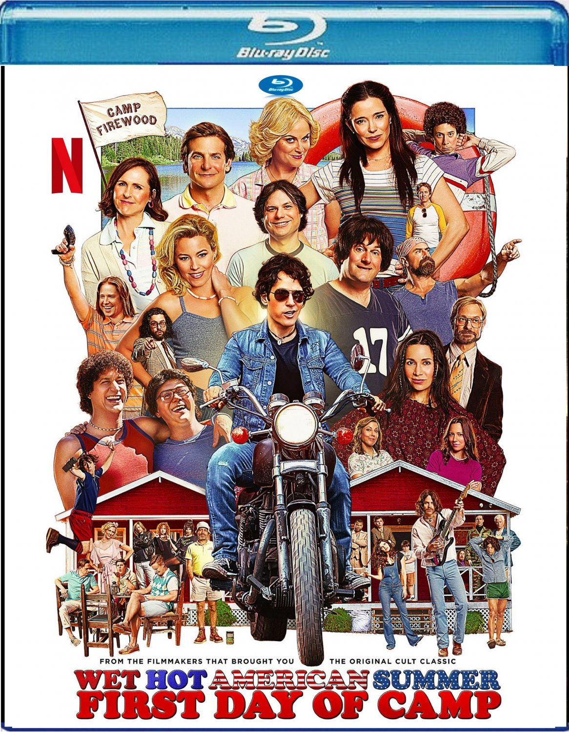Wet Hot American Summer: First Day Of Camp (Full Season) ]Blu-ray]