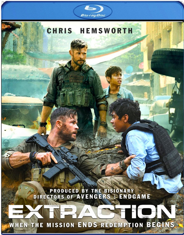 EXTRACTION [2020 Blu-ray] Chris Hemsworth