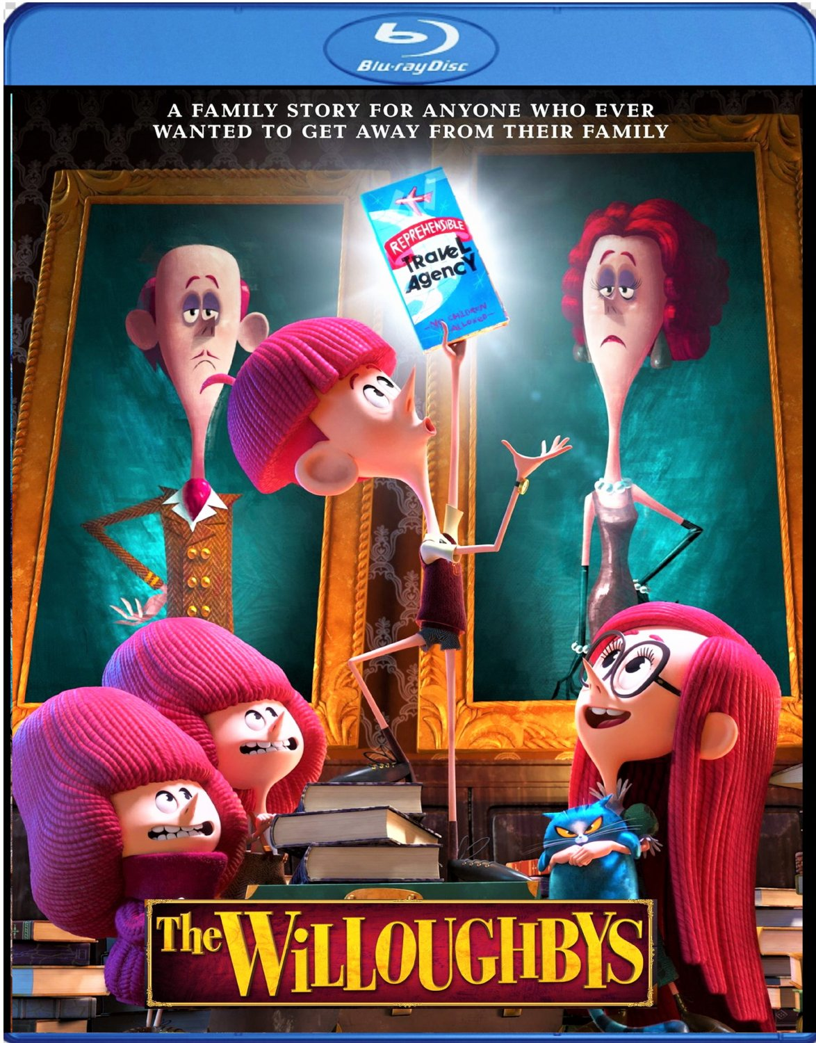 The Willoughbys [2020 Blu-ray] Animated Comedy