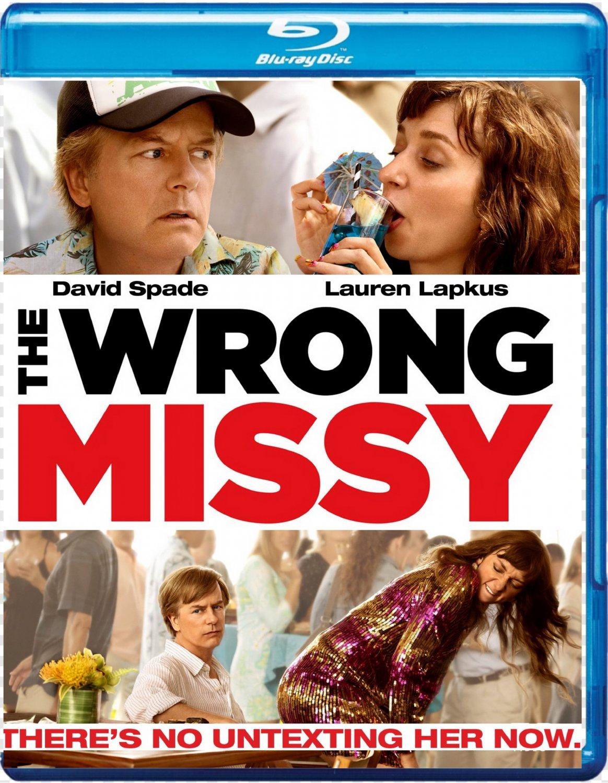 THE WRONG MISSY [2020 Blu-ray]  David Spade