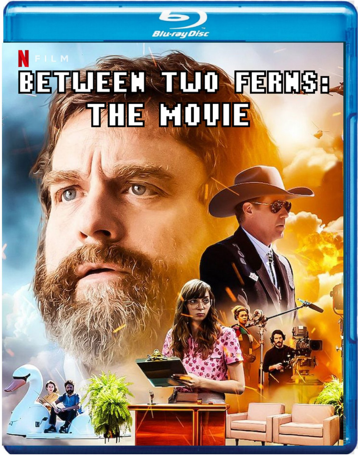 Between Two Ferns: The Movie [2020 Blu-ray] Comedy