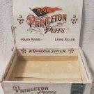 Princeton Puffs University Football scarce cigar box multi-labeled circa 1900