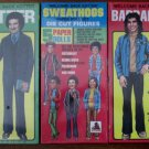 Welcome Back Kotter Sweathogs sealed paper dolls set 1977