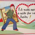 Camel's cigarettes advertising and Valentines Day card circa 1930's