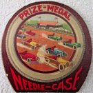 """Racing cars """"Prize Medal"""" scarce needle case early 1900's unused"""