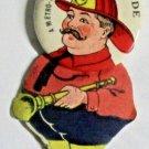 The Fire Brigade Metro-Goldwyn-Mayer Silent Film Promo Pinback,1926 near mint