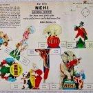 Nehi Soda The Tiny Nehi Animal Show cutout circus circa mid 1900's
