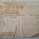 Unusual Photography Studio cover envelope Old Orchard Beach Maine