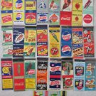 Soda lot of 28 different match book covers excellent condition 1930-60's