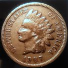 1907 Indian Head Penny  Full/Partial Liberty