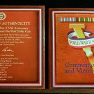 1991- 1995 WWII 50TH ANNIVERSARY COMM HALF DOLLAR & VICTORY MEDAL