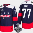 Washington Capitals T.J. Oshie Stanley Cup Champions Stadium Navy Jersey