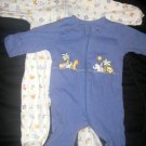 2 Gerber Jungle Friends Theme Sleepers - Sz: Justborn