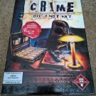 Crime Does Not Pay For Commodore Amiga, NEW FACTORY SEALED, Titus