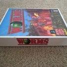 Worms For Commodore Amiga, NEW OPEN BOX, Team 17
