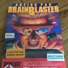 BrainBlaster Action Pak For Amiga: Xenon 2 & Bombuzal, FACTORY SEALED, Cinemaware