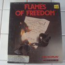 Flames of Freedom for Commodore Amiga, NEW FACTORY SEALED, MicroPlay/MicroProse